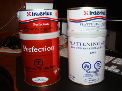 Perfection 2 part paint with flattening agent
